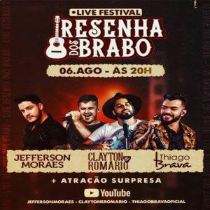 Resenha dos Brabo part. Jefferson Moraes, Clayton e Romário, Thiago Brava e Hugo & Guilherme