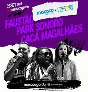 Faustão, Park Sonoro e Cacá Magalhães